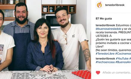 Tenedor libre ok, el primer canal de cocina argentino de Youtube