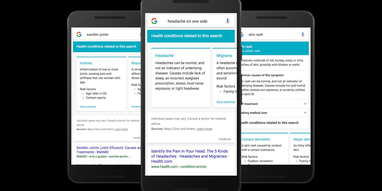Google responderá consultas médicas (y los peligros que acarrea)
