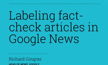 La propuesta de Google para chequear las noticias