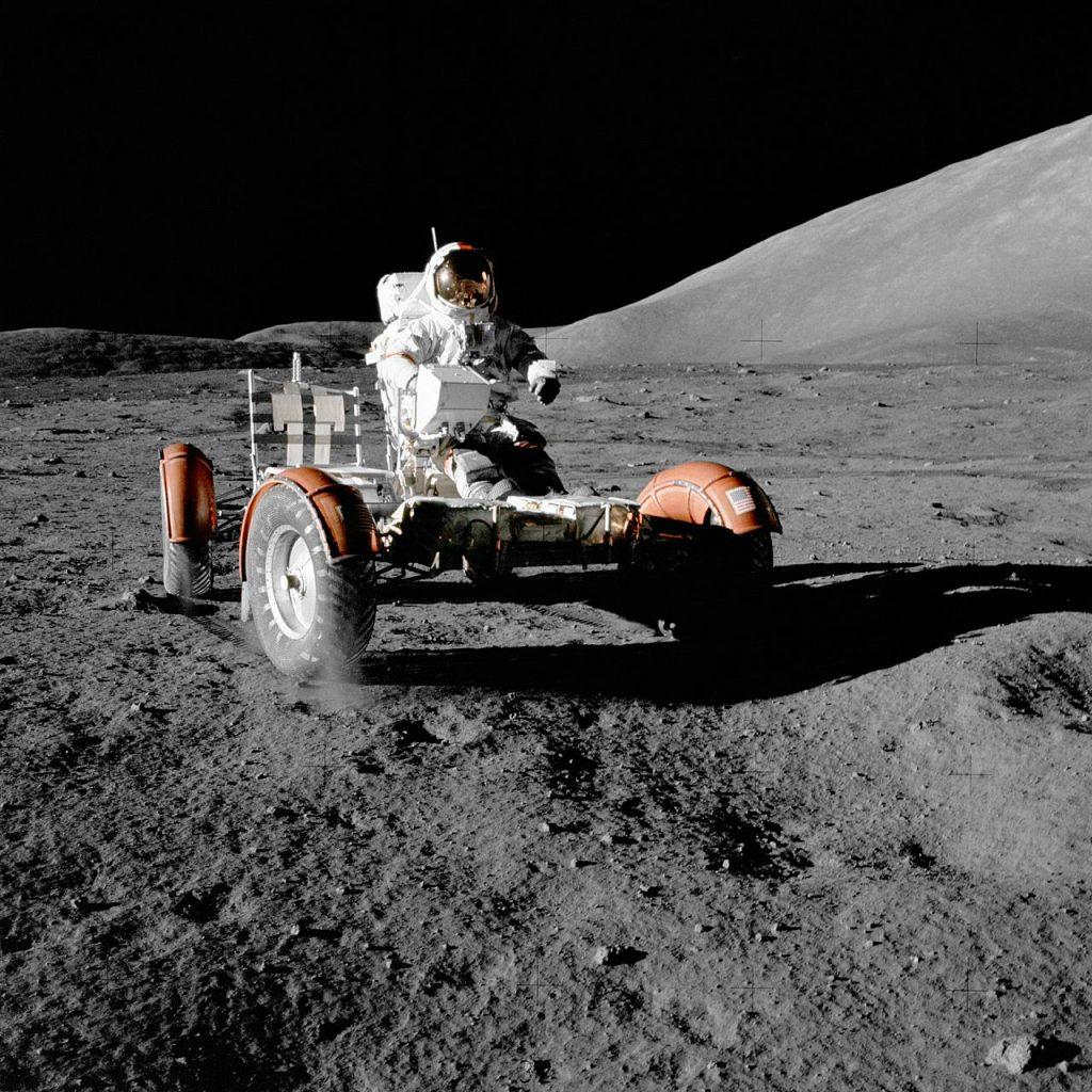 Rover Lunar.