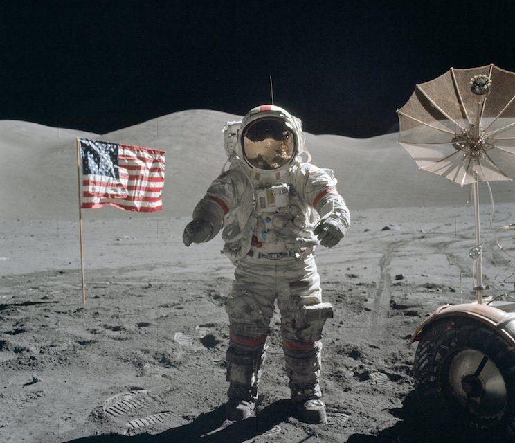 Murió Eugene Cernan, el último en pisar la luna