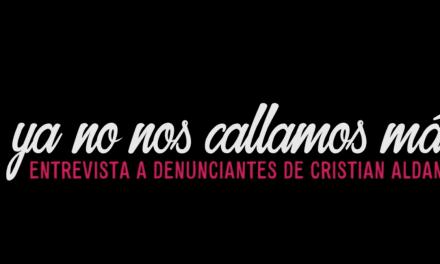 #YaNoNosCallamosMás: tres testimonios