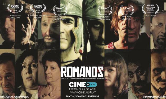Se estrena Romanos, de argentina al mundo