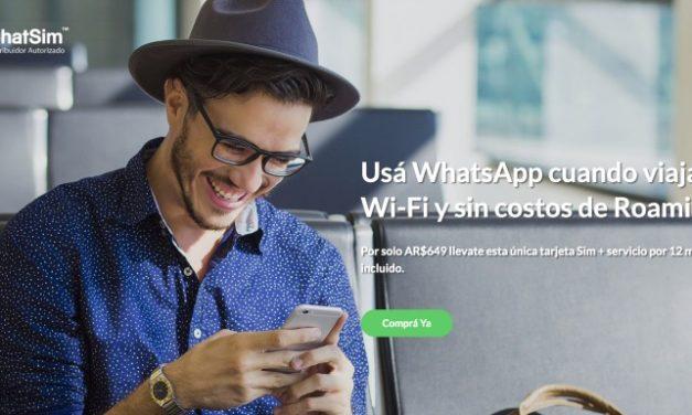 ChatSim en la argentina, el chip para mensajear en el exterior