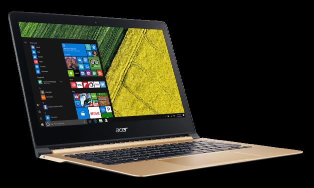 Las nuevas notebooks de Acer, para todos los gustos
