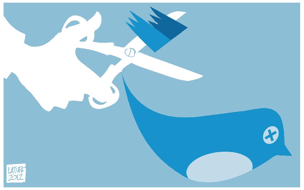 ¿Por qué Twitter censura cuentas?