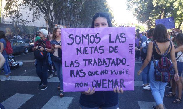 Medio millón de mujeres no se callan más #8M