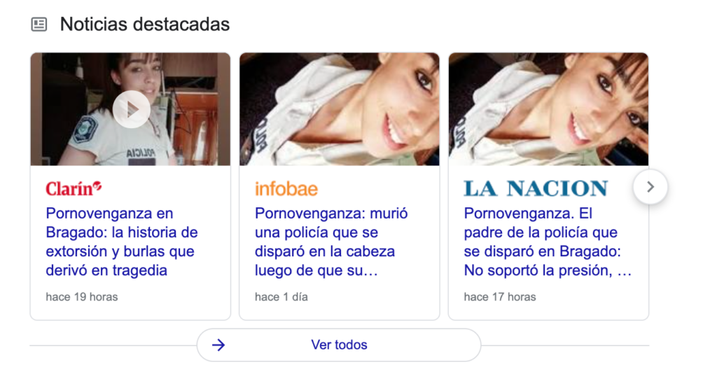 portadas sobre el caso Belén San Román